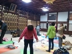 クリスタルボール 五行ストレッチセルフケア お寺 長崎 諫早